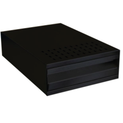 Knock Out Drawer (black)