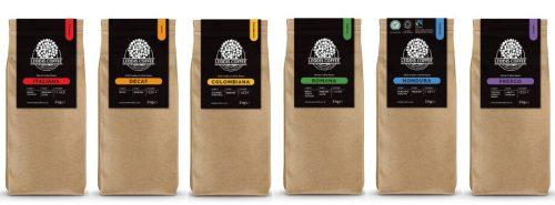 Leodis Coffee Rainbow Range